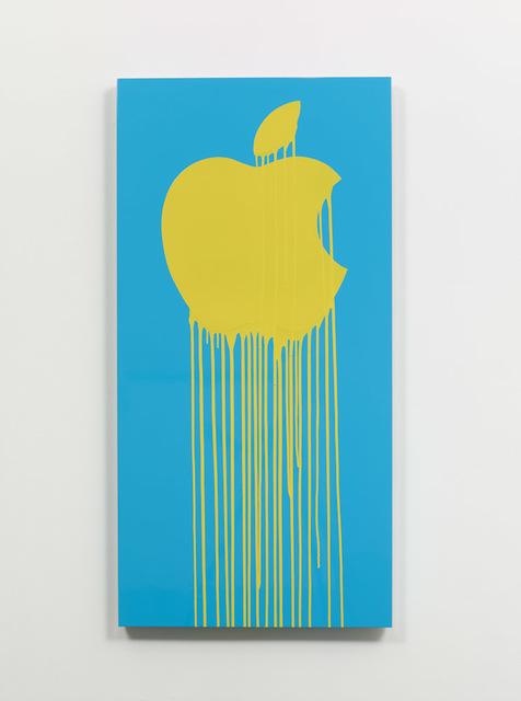, 'Liquidated Apple - Blue,' 2013, Taglialatella Galleries