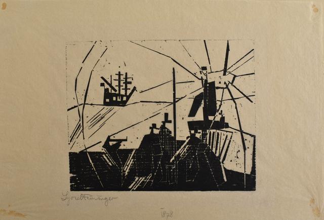 , 'On the Quay | Am Quai,' 1918, Gilden's Art Gallery
