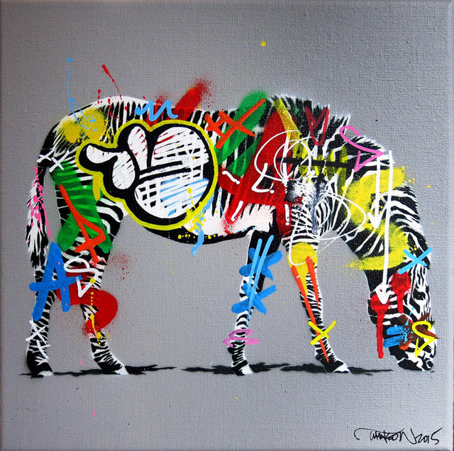 , 'Small Zebra,' , Black Book Gallery