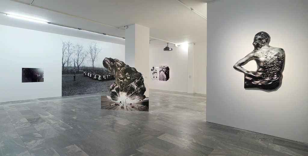 Installation view, JULIA STOSCHEK COLLECTION, Berlin. Photo: Simon Vogel