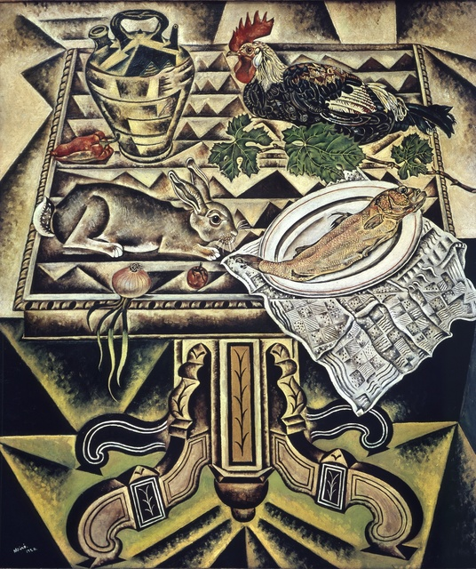 Joan Miró, 'The Table, called Still life with Hare', 1920, ARS/Art Resource