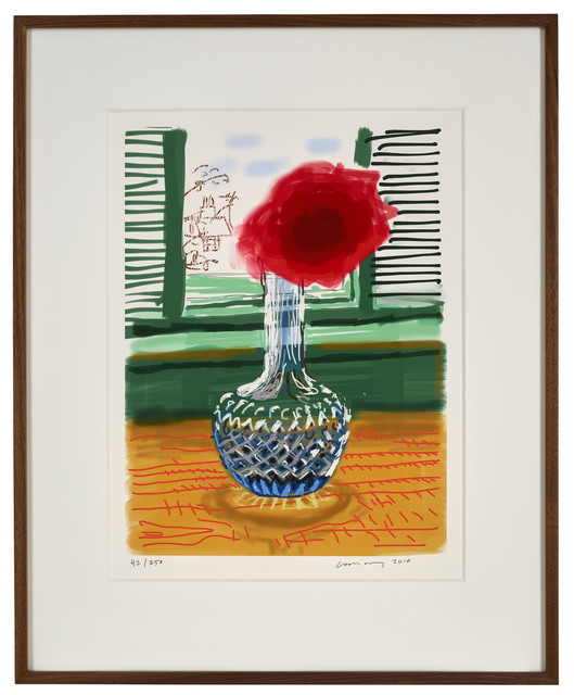 "David Hockney, '23rd July 2010 ""No. 281""', 2010, Print, Eight-colour inkjet iPad print on cotton archive paper, DELAHUNTY"