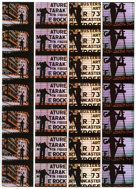 ", 'Filmstrips from ""Broadway by Light "" # 4, New York,' 1958, Polka Galerie"