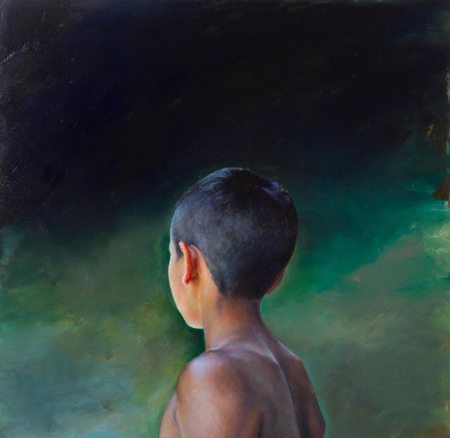 , 'Boy in Green,' , Sirona Fine Art