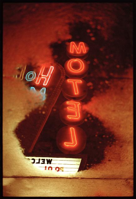 , 'Motel sign,' 2017, David Hill Gallery
