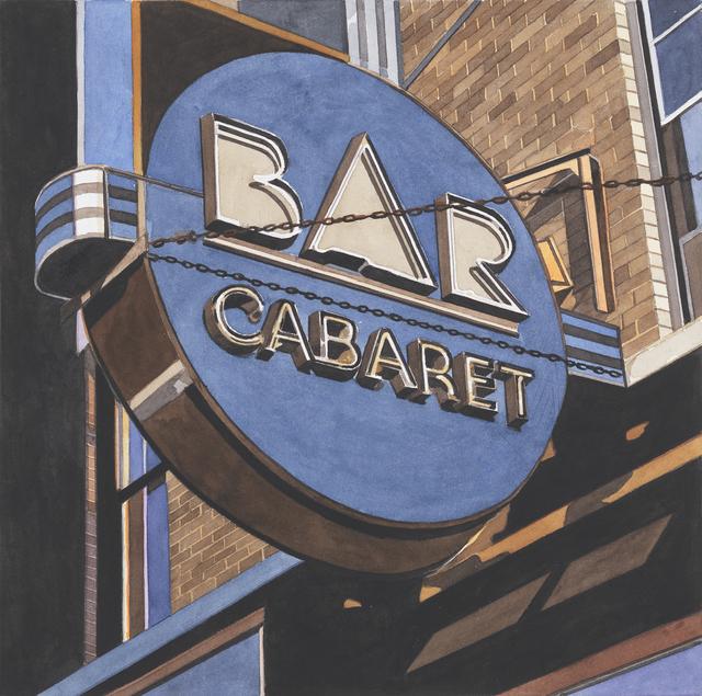 , 'Bar Cabaret,' 2014, Miles McEnery Gallery