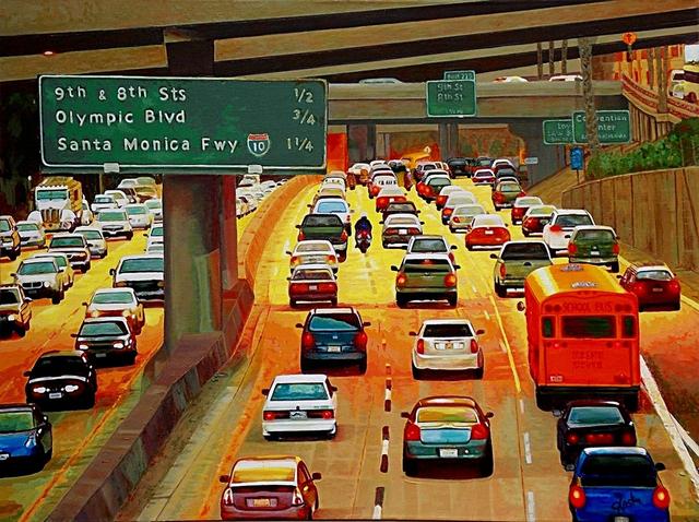 , 'LA Commute,' 2015, Fusion Art