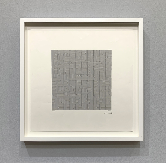 Manfred Mohr, 'P-082-A', 1971, bitforms gallery