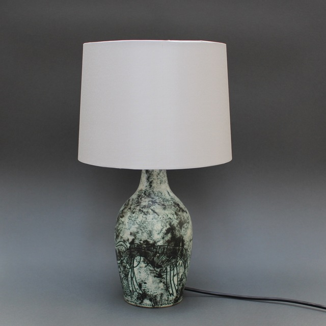 , 'Ceramic Lamp,' 1950-1959, Bureau of Interior Affairs