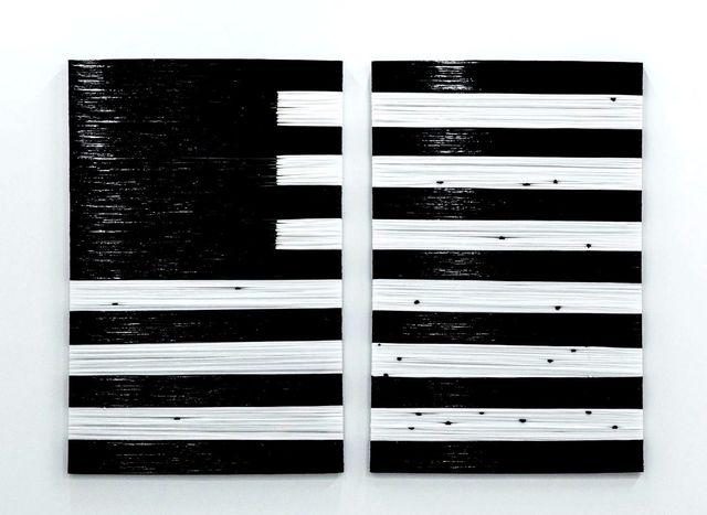 , 'Film Noir et Blanc Americain (Diptych),' 2016, Mariane Ibrahim Gallery