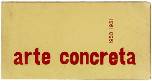 Arte concreta 1950-1951