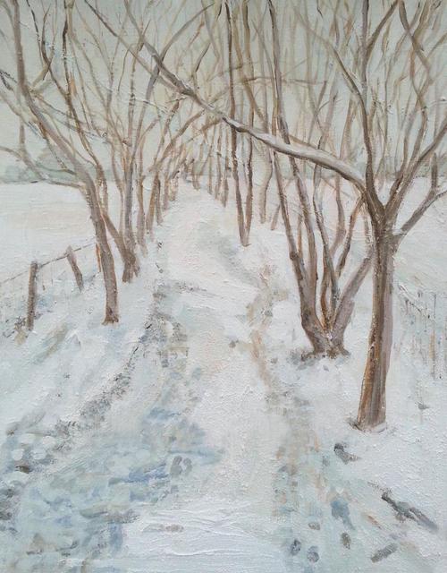 , 'Winter Path,' 2019, UK Artists