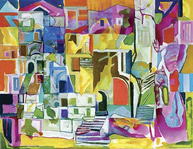 , 'Derelict Houses, Palermo,' 2016, Catto Gallery