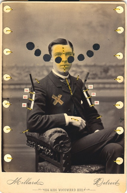 , 'Man with X,' 2007-2010, Muriel Guépin Gallery