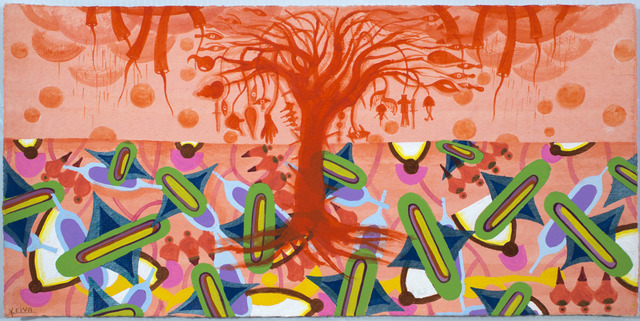 , 'Imagenes del Paraiso IV (orange w tree),' 2012, Ruiz-Healy Art