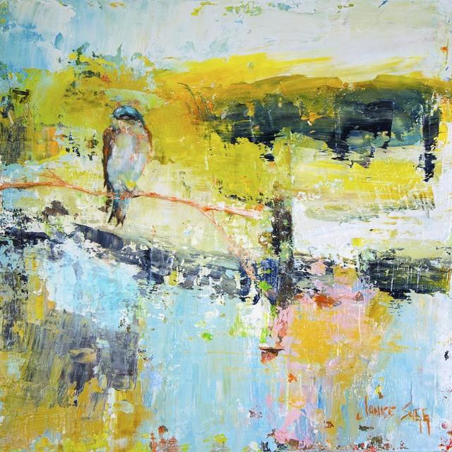 , 'First Light, Birds Listening,' 2018, Mirada Fine Art