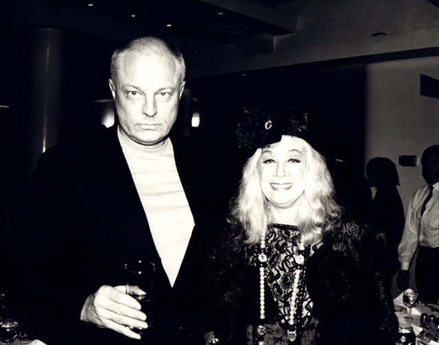 Andy Warhol, 'Andy Warhol, Photograph of Nelson Lyon and Sylvia Miles, 1980s', 1980s, Hedges Projects