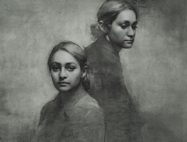 , 'Maids of Bond Street,' 2018, Grenning Gallery