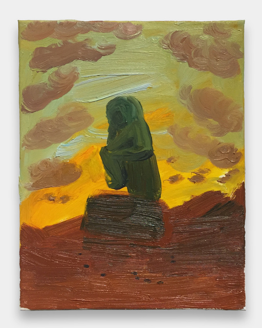 , 'The Thinker on Mars,' 2016, Fleisher/Ollman