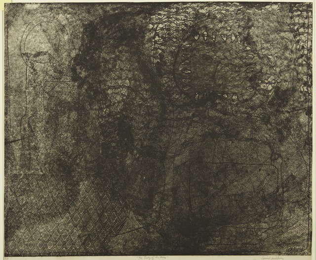 Louise Nevelson, 'Moon Lady', 1966, Print, Etching and aquatint, Childs Gallery