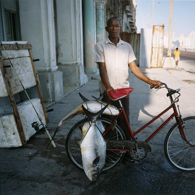 , 'Fisherman on the Malecon, Havana ,' 2002, Wall Space Gallery
