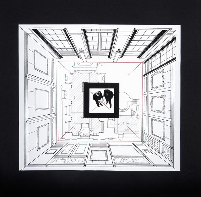 """, 'Studio per """"Da lontano"""",' 2015, Galleria Fumagalli"""