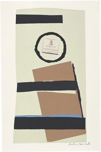 , 'Summer Light Series: Pauillac, #3,' 1973, Dedalus Foundation