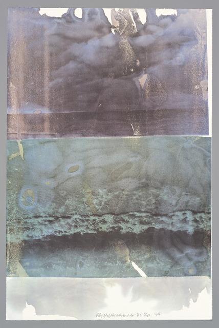 Robert Rauschenberg, 'Music (Tribute 21)', 1994, Print, Offset lithograph, San Francisco Museum of Modern Art (SFMOMA)