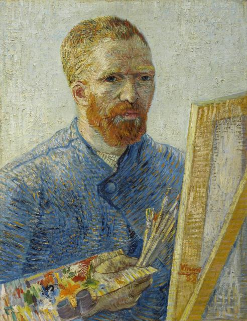 , 'Self-Portrait as a Painter,' 1887-1888, Van Gogh Museum