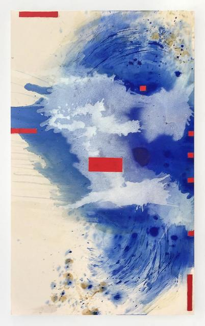 Janet Filomeno, 'Blue Crystals Revisited no.15', 2019, Walter Wickiser Gallery