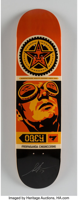 Shepard Fairey (OBEY), 'Obey Skate Deck', 2017, Heritage Auctions