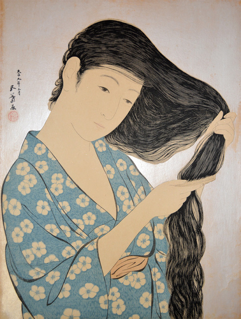 , 'Woman Combing Her Hair ,' 1920, Ronin Gallery