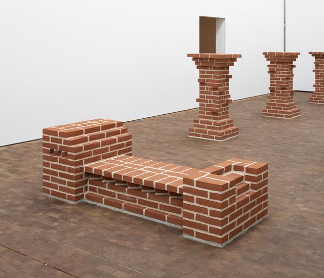 , 'Essen X (Bank),' 1977, Galleri Susanne Ottesen