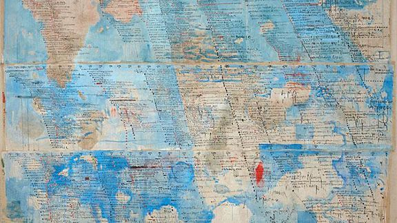 , 'Mappa sinoticca,' 2012-2015, Partners & Mucciaccia