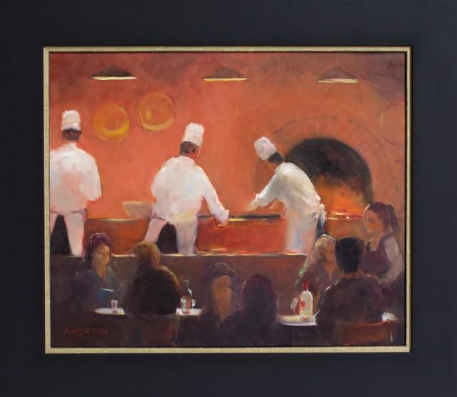 , ''Pizza Chefs' ,' 2014, Wentworth Galleries
