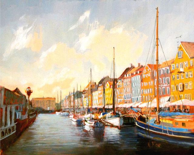 , 'Ny Havn, Copenhagen, Denmark,' , Copley Society of Art