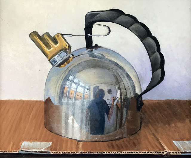 , 'He Kettle,' 2017, Eckert Fine Art