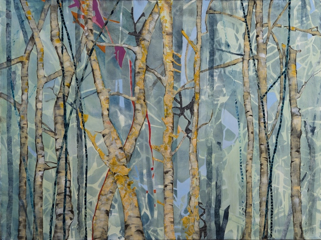 , 'TREE CONFETTI,' 2017, Walter Wickiser Gallery