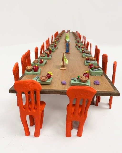 , 'Turkey Pot Pie Special Only at Marie Callender's (The Last Supper),' 2018, Postmasters Gallery