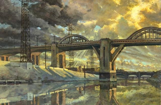 , 'LA River 2,' 2018, George Billis Gallery