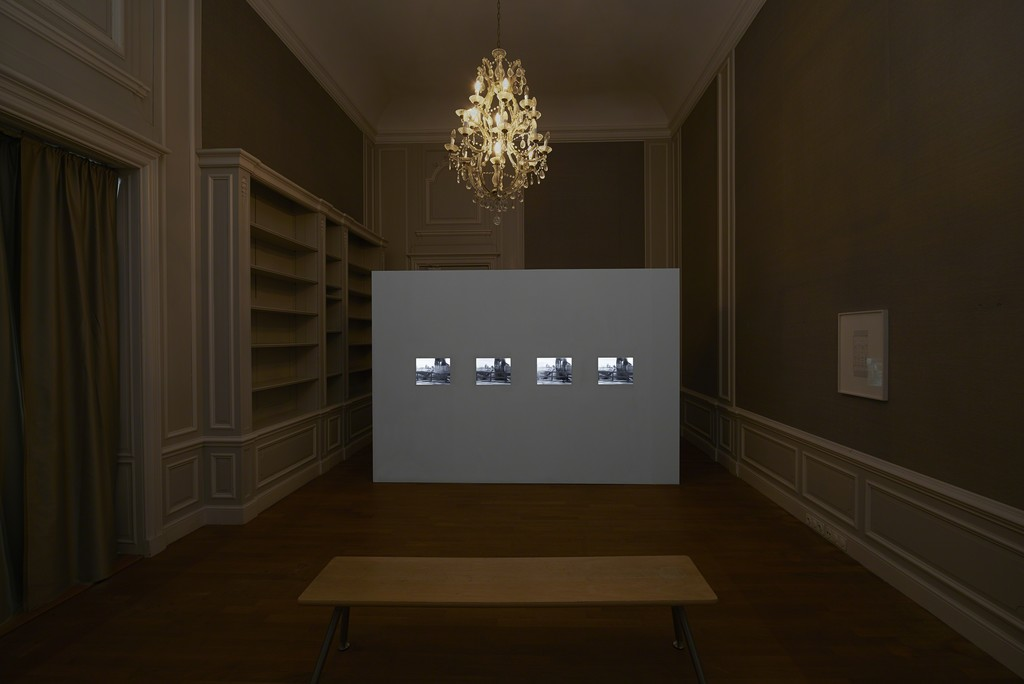Beryl Korot, Dachau, 4-channel video installation 24:00 min., 1974
