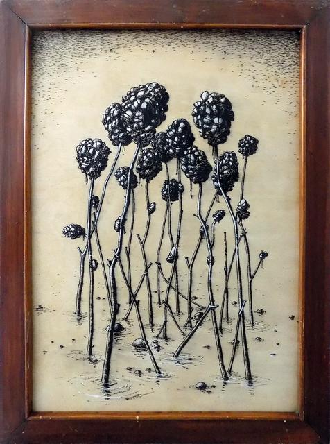 , 'Flowers,' 2015, TOLK Gallery
