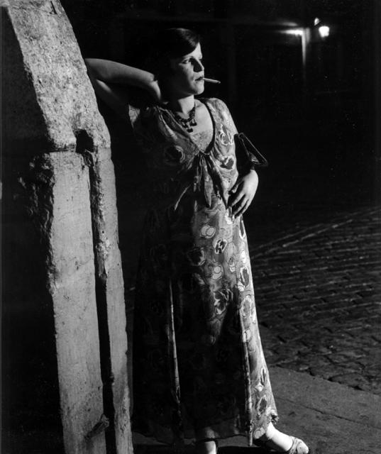 Brassaï, 'Fille De Joie Du Quartier Italien Dans Une Robe Printanière', 1931, Holden Luntz Gallery
