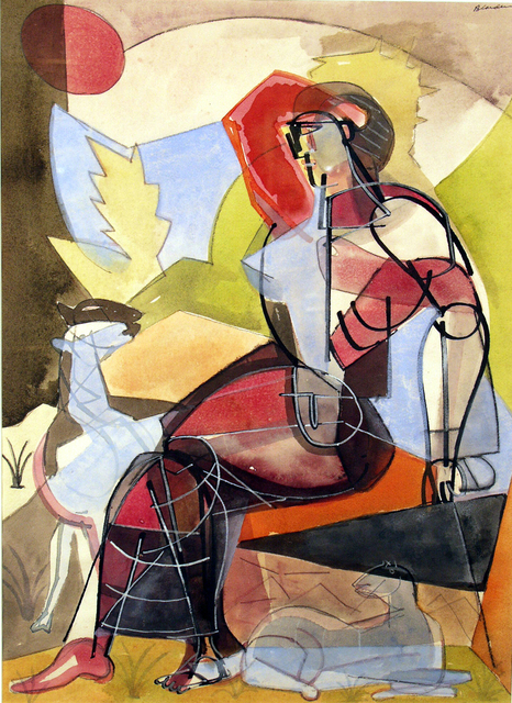, 'Shepherdess,' 1946, ACA Galleries