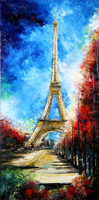 , 'Paris Boulevard,' 2015, Bitfactory Gallery