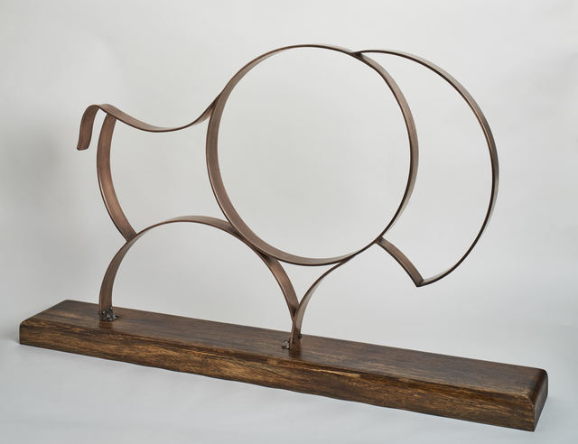, 'Bronze Bison,' , Diehl Gallery