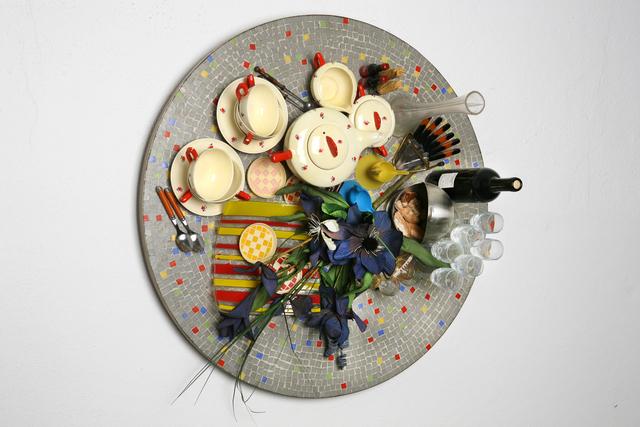 , 'Faux Tableau-Piège (Serie: Mosaiques Années '50),' 2010, Galerie Krinzinger