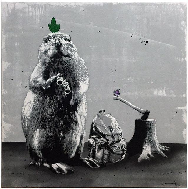 , 'Beaver Hunt,' 2015, Black Book Gallery