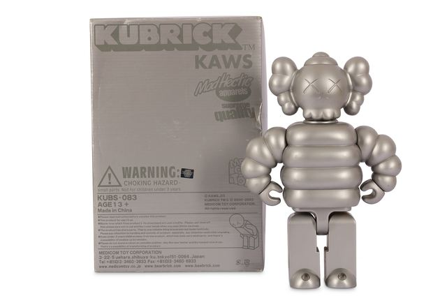 KAWS, 'Kubrick Mad Hectic', 2003, Sculpture, Metal and vinyl, Chiswick Auctions