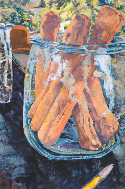 , 'Breadstick Jar,' 2018, Bruno David Gallery